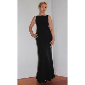 Emanuel Ungaro Black Maxi Dress Petite 4 / 38